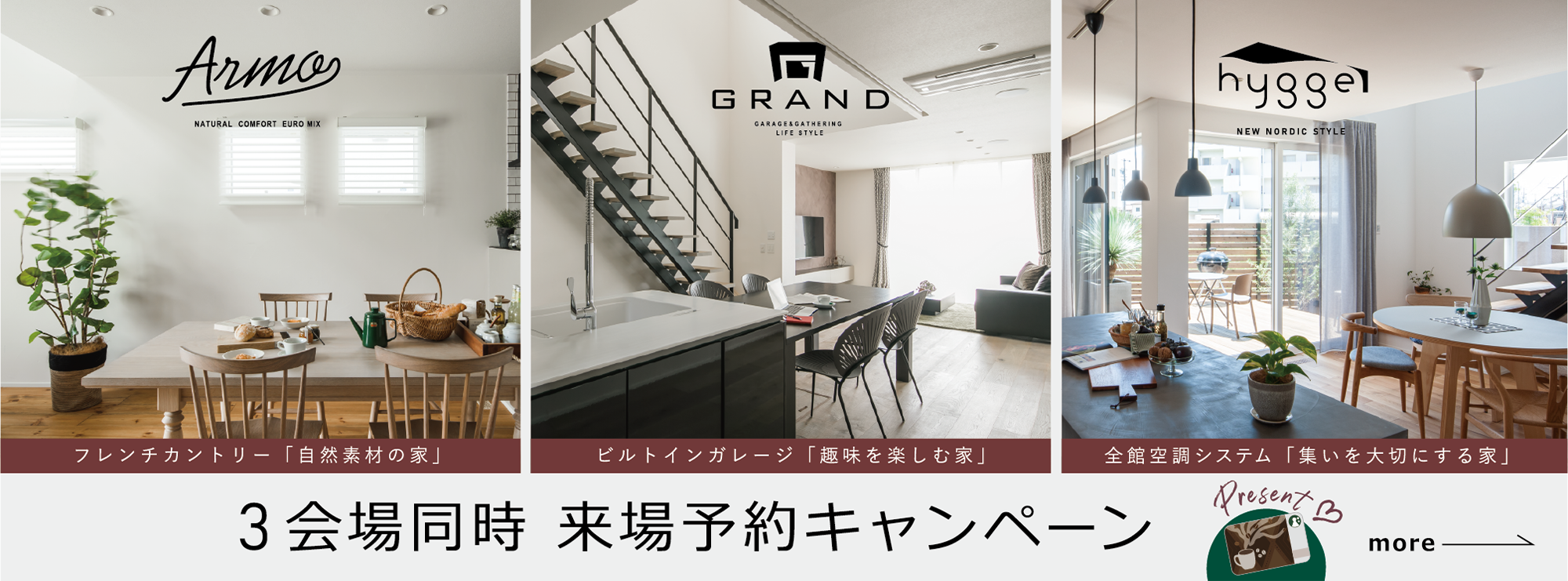 GRAND OPEN concept model house hygge