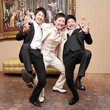 村瀬家三兄弟です。みんな仲良し。